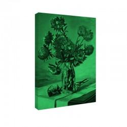 Tablou fosforescent Flori intr-o sticla