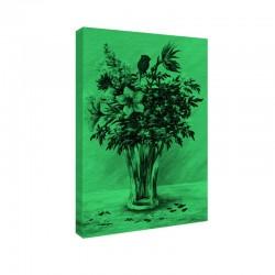 Tablou fosforescent Buchet de flori in vaza