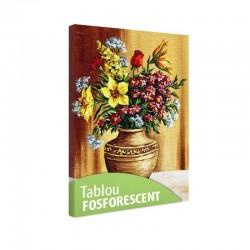 Set tablou fosforescent Flori din gradina