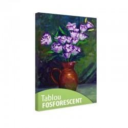 Set tablou fosforescent Campanule