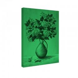 Set tablou fosforescent Dalii in ulcior de lut