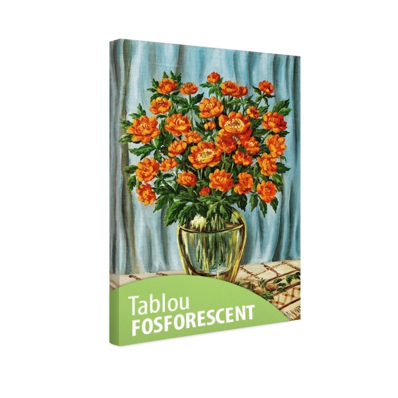 Set tablou fosforescent Bulbuci de munte