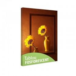Tablou fosforescent Floarea soarelui