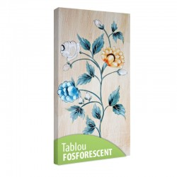 Set tablou fosforescent Design floral