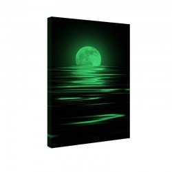 Tablou fosforescent Luna