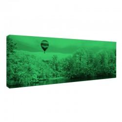 Tablou fosforescent Plimbare cu balonul