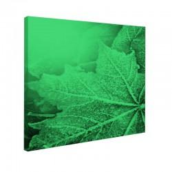 Tablou fosforescent Frunze textura de iarna