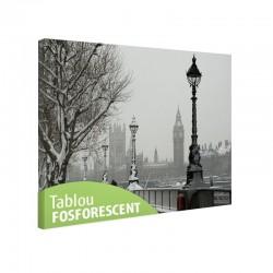 Tablou fosforescent Londra sub zapada