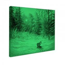 Tablou fosforescent Peisaj de iarna