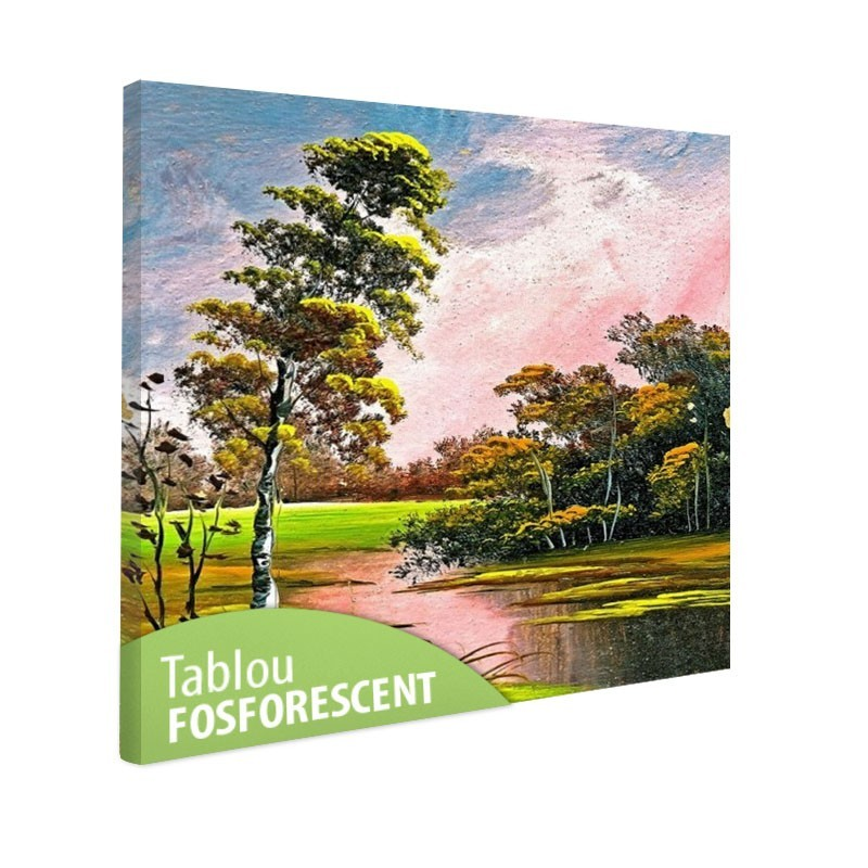 Tablou fosforescent Peisaj de vara