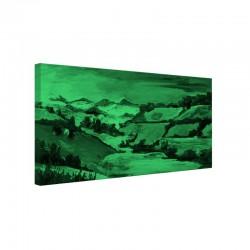 Tablou fosforescent Vara pe dealuri