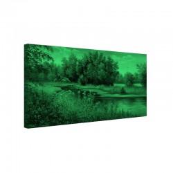 Tablou fosforescent Vara pe lac
