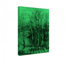 Tablou fosforescent Inca verde