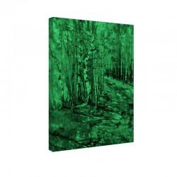 Tablou fosforescent Padure de mesteceni