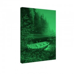 Tablou fosforescent Barca pe lac