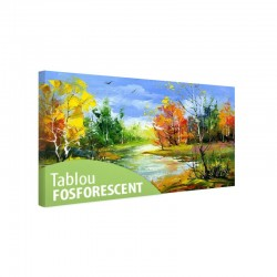 Tablou fosforescent Toamna timpurie