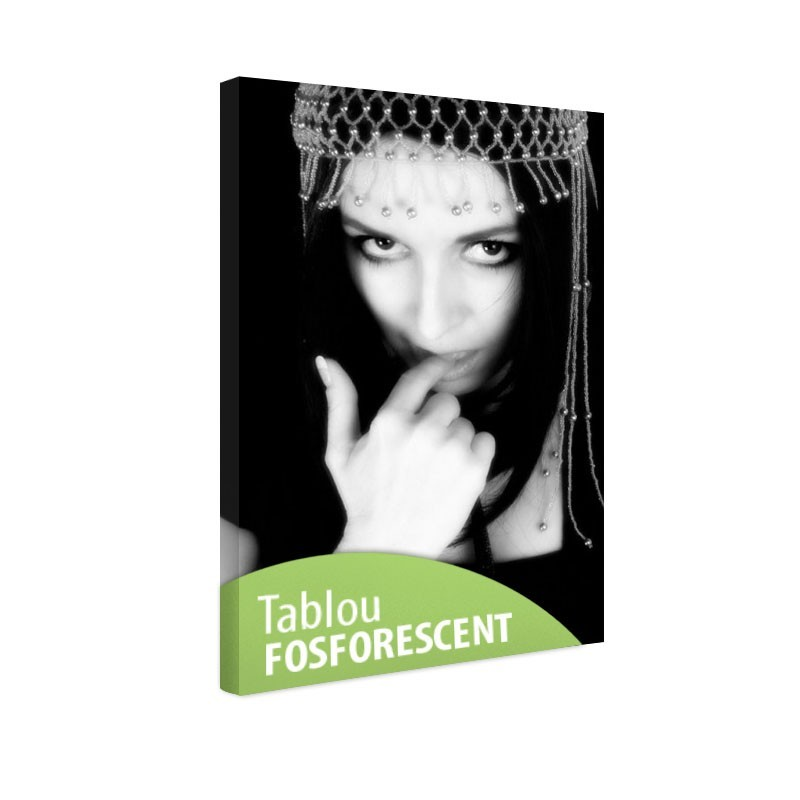 Tablou fosforescent Secret