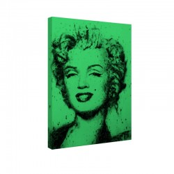 Tablou fosforescent Marylin portret