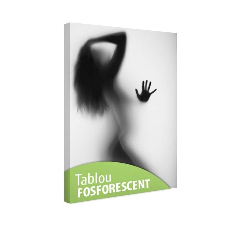 Tablou fosforescent Silueta feminina