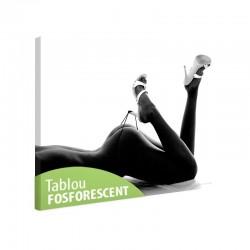 Tablou fosforescent Femeie Nud, 40x60cm, canvas