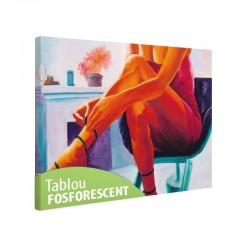 Tablou fosforescent Picioare de femeie
