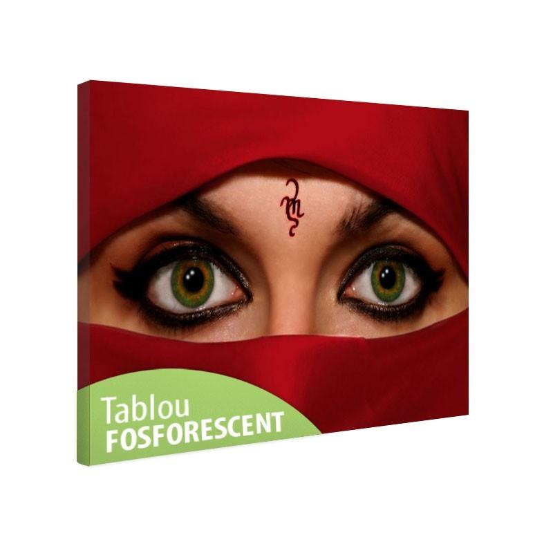 Tablou fosforescent Femeie araba