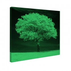 Tablou fosforescent Copac alb