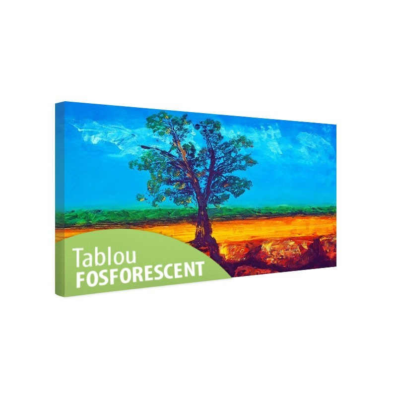 Tablou fosforescent Copac singuratic