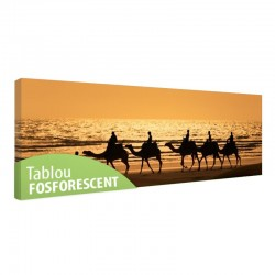 Tablou fosforescent Calatorie in Africa