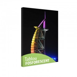 Tablou fosforescent Dubai