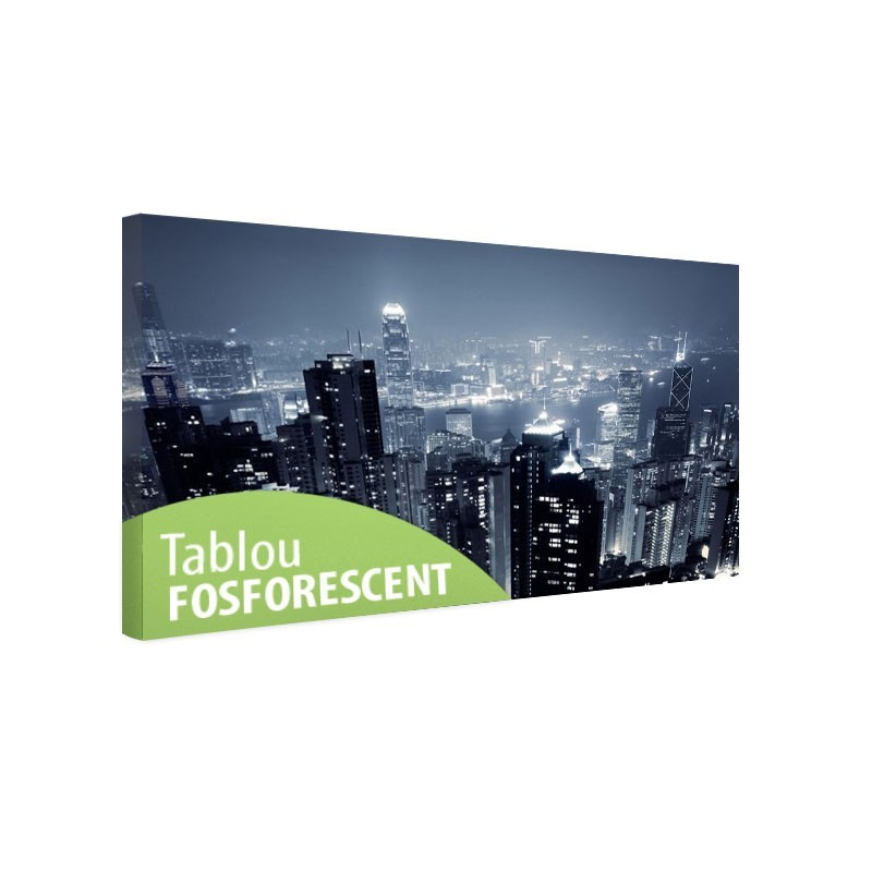 Tablou fosforescent Hong Kong