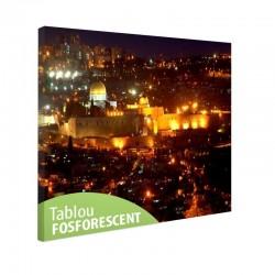 Tablou fosforescent Ierusalim