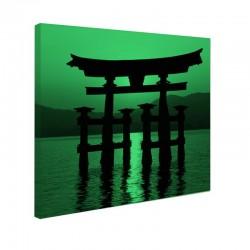 Tablou fosforescent Poarta Miyajima Torii