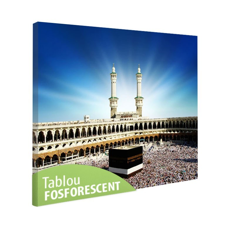 Tablou fosforescent Mecca