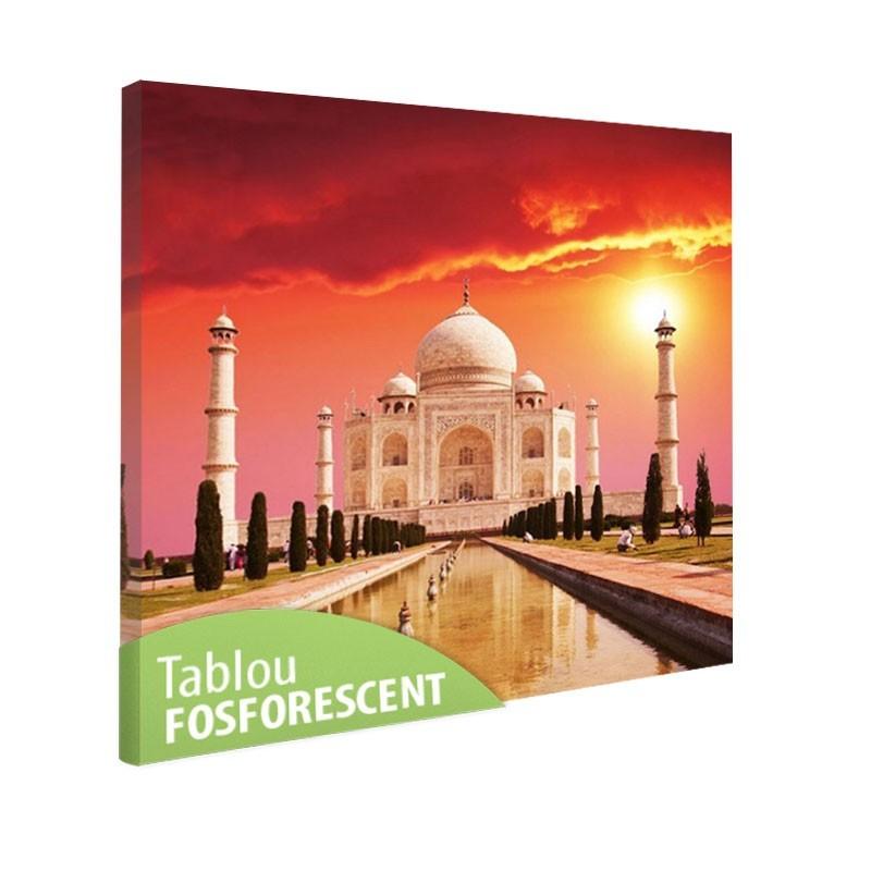 Tablou fosforescent Taj Mahal