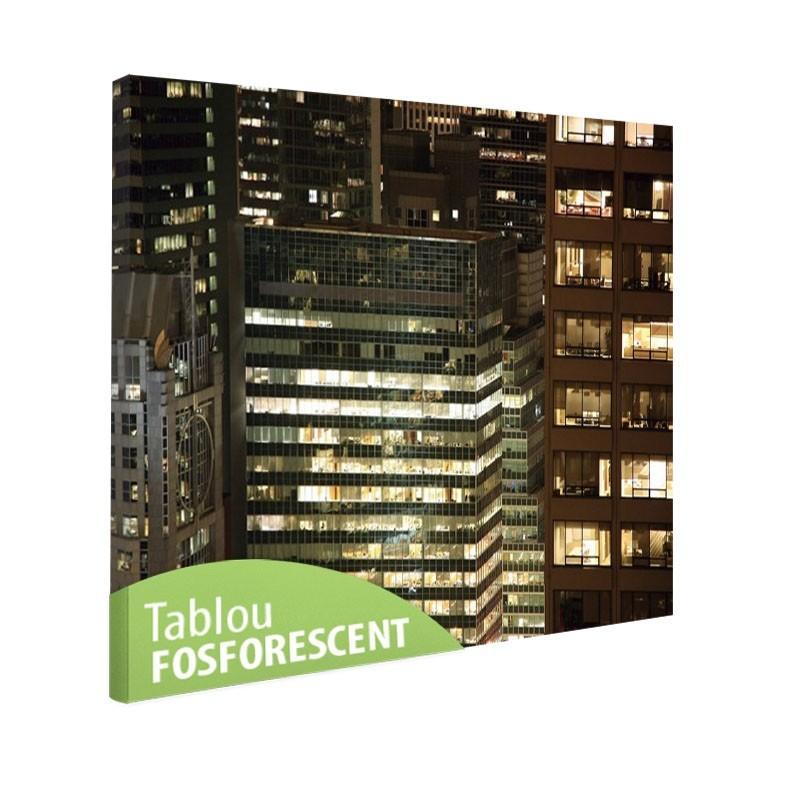 Tablou fosforescent La etaj