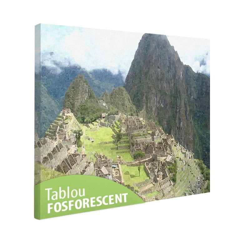 Tablou fosforescent Machu Picchu