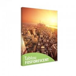 Tablou fosforescent Viitorul New York