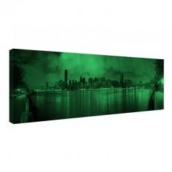 Tablou fosforescent Manhattan noaptea