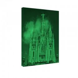 Tablou fosforescent Templu in Barcelona