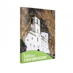 Tablou fosforescent Manastirea alba