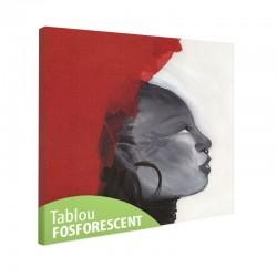 Tablou fosforescent Profil de femeie africana