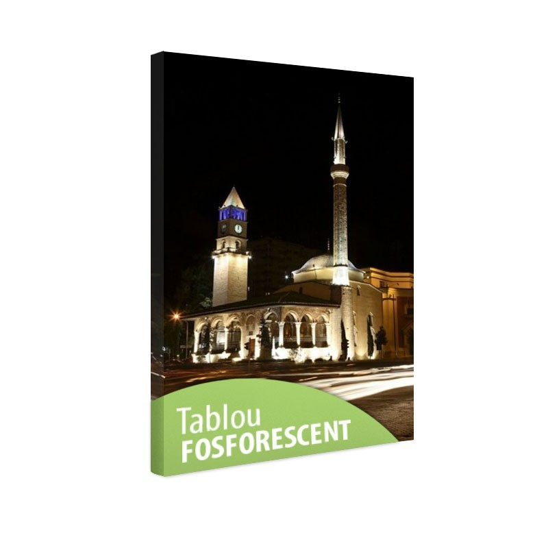 Tablou fosforescent Moschee in Tirana
