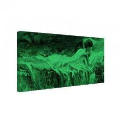 Tablou fosforescent Fata din pat
