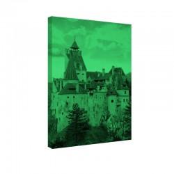 Tablou fosforescent Castelul Bran