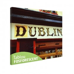 Tablou fosforescent Dublin