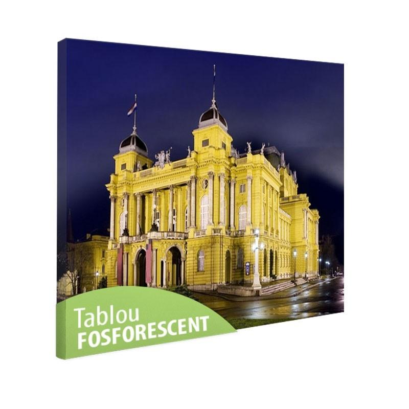 Tablou fosforescent Teatrul National Croat