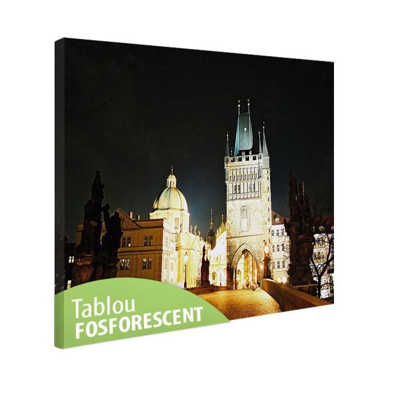 Tablou fosforescent Praga