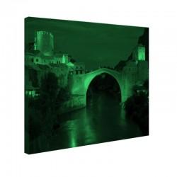 Tablou fosforescent Podul Mostar