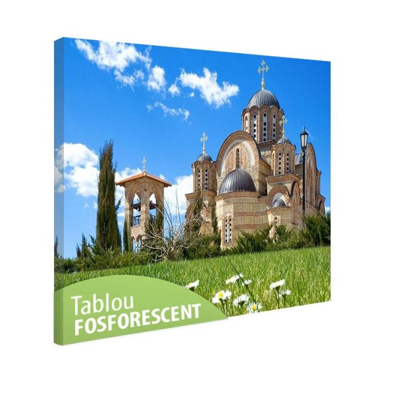 Tablou fosforescent Biserica ortodoxa